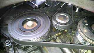 Whistling of drive belt - Peugeot 406 2.0 HDi