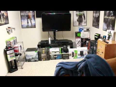 Gaming Setup / Desk Tour (Room Tour) Spring 2012