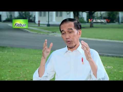 Ditanya Soal Nyapres 2019, Ini Jawaban Jokowi