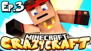 Minecraft  CRAZY CRAFT 3.0 | Ep 3 : VOLCANIC PARKOUR! (Crazy Craft Modded Survival)