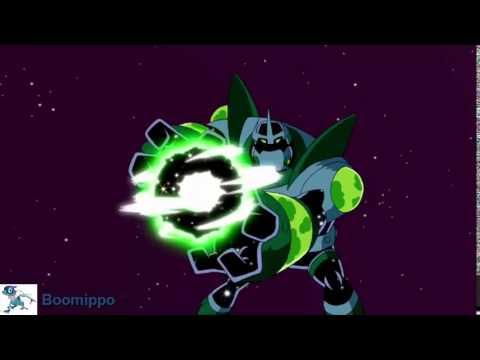 Ben 10 Omniverse : Atomic-X Transformation ( Biomnitrix )