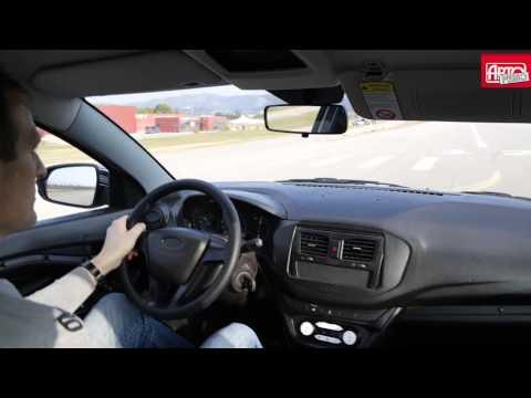 Эксклюзивный тест-драйв Lada Vesta от президента