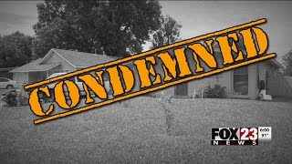 VIDEO: A condemned home up for rent.