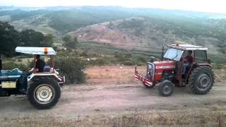 Massey Ferguson 265 vs Ford 3000