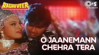 O Jaanemann Chehra Tera - Raghuveer - Sunil Shetty and Shilpa Shirodkar - Full Song