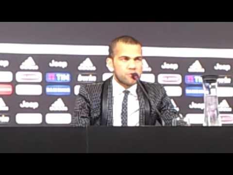 Juventus: presentazione Dani Alves