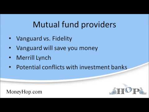 Vanguard and full-service brokerage funds