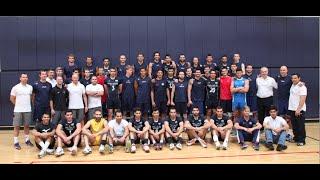 صحنه هایی از اولین تمرین تیمهای ملی والیبال ایران و آمریکا