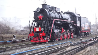 How Russian locomotive class L works.