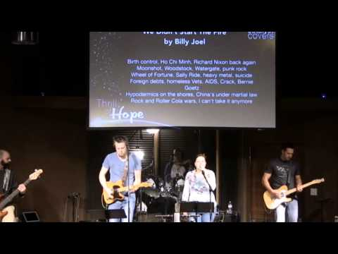 Catalyst Covers - we Didn't Start The Fire By Billy Joel (12-7-14) video