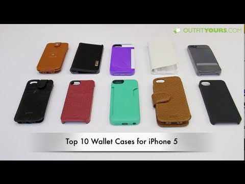 Top 10 Best Wallet Cases for iPhone 5
