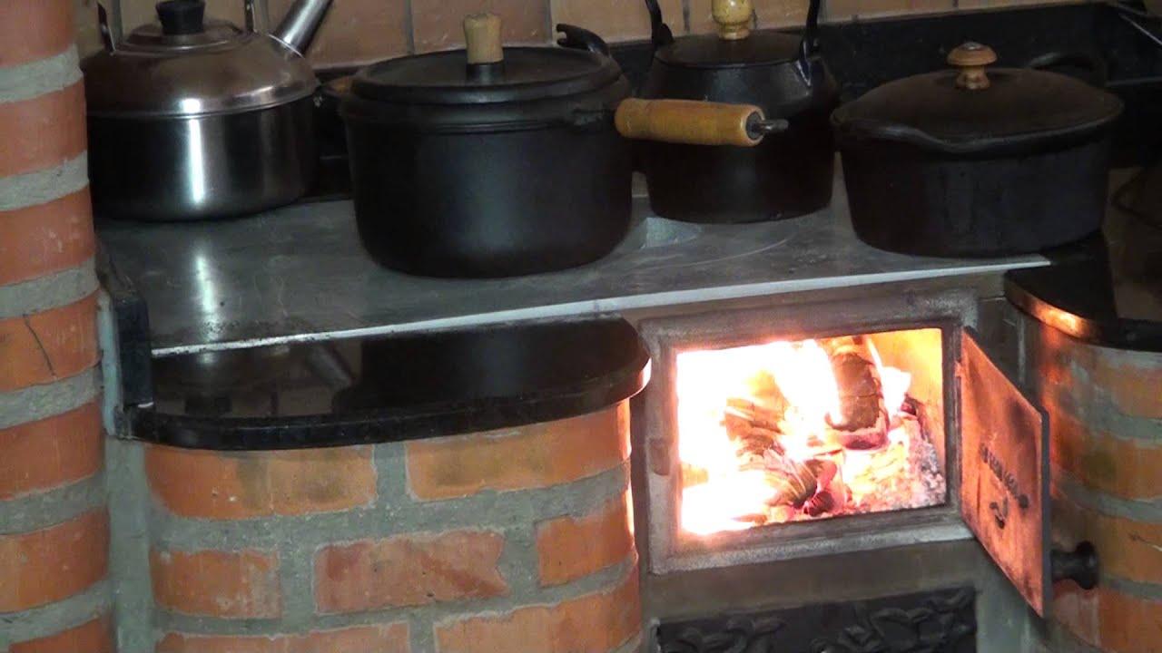 Cocina a lena tecnogrill usted merece tener un youtube - Cocinas bilbainas de lena ...