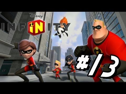 Disney Infinity Wii U - Walkthrough Part 13 The Incredibles Hoverboard Action!