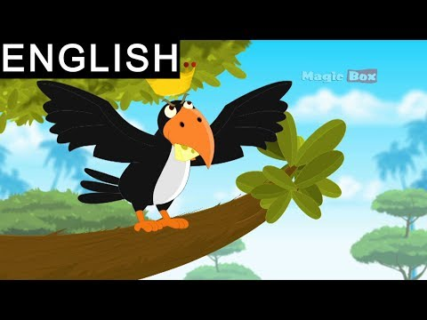 Aesop's Fables Animated stories in English - Story 17 Fox and the crow