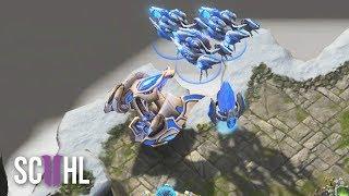 Proxy Voidrays in Enemy Base?! - Zest vs TY - Starcraft 2