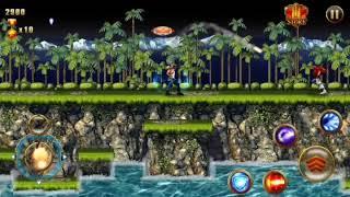 Gameplay : Contra Evolution . . Game legend Nintendo Nes remake contra original ke Android sekarang