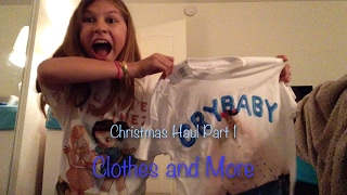 Christmas Haul Part 1 Clothes and More(read desc.)
