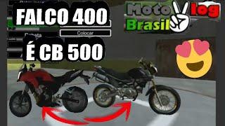 A FALCO 400 NO MOTO VLOG BRASIL ✔ NOVIDADES DA PRÓXIMA ATUALIZAÇÃO ✔