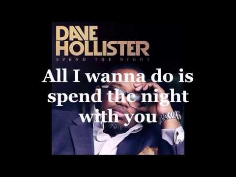 Dave Hollister - Spend The Night (Lyrics)