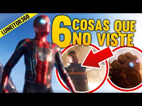 AVENGERS: INFINITY WAR Trailer - Secretos que Tal Vez NO Viste, Easter eggs y Más! (Breakdown)