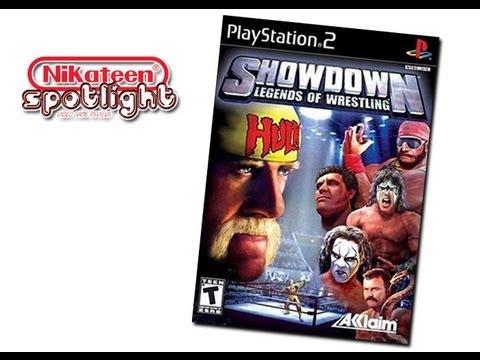 Spotlight Video Game Reviews - Showdown: Legends of Wrestling (PS2)