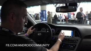 Android Auto demo at LA AUTO SHOW 2014 [uncut]