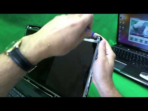 Dell Inspiron 1750 Laptop Screen Replacement Procedure