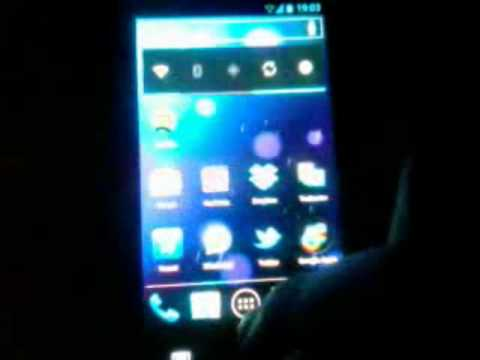 Galaxy S Plus CM9 Android 4.0.4