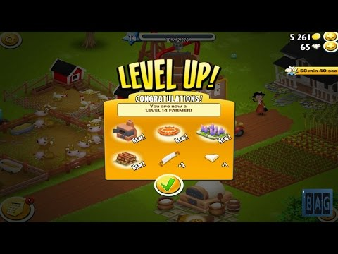 Hay Day Level 14 (HD GamePlay)