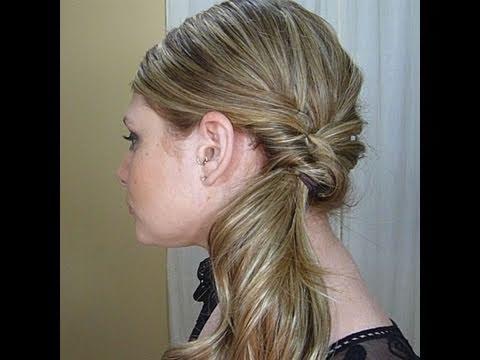Side Ponytail hairstyle - Lófarok frizura oldalt