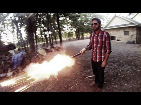 July 4th GoPro Matrix Bullet Time Effect with Fireworks (240fps)