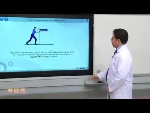 Fizik 9 sınıf kuvvet kavramı ve temel kuvvetler 1 konu anlatımı