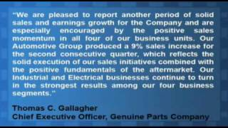 Genuine Parts Company Beats Q1 Earnings Estimates