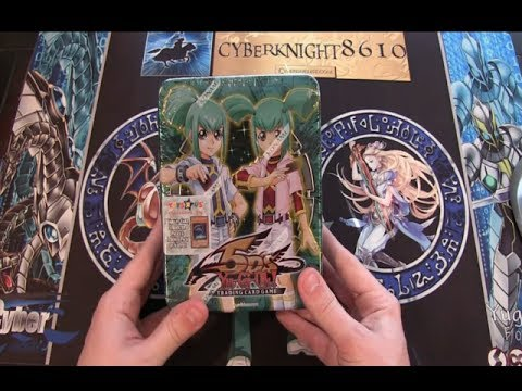 Yugioh 5ds 2009 Exclusive Collector Tin Set Leo And Luna Opening video