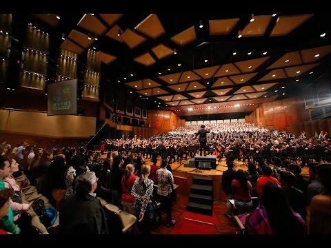 40 años de El Sistema de Orquestas, evento completo: Homenaje a José Antonio Abreu