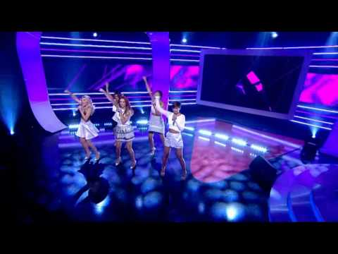 The Saturdays - What Are You Waiting For? - The National Lottery - 9th August 2014