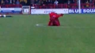 """Reggie""  (Crawley Town Mascot In action)"
