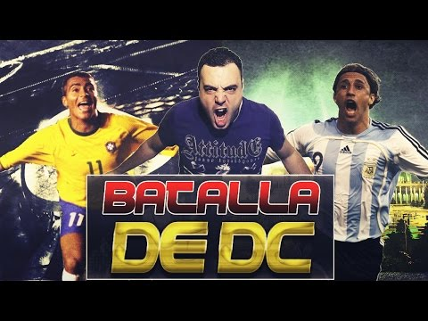 FIFA 14 | BATALLA DC | Romario LEYENDA Vs Crespo LEYENDA