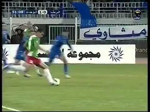 هدف خرافي بكعب القدم للسوري معتز صالحاني في الدوري الأردني