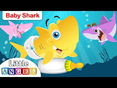 Baby Shark Song | Animal Songs | by Little Angel