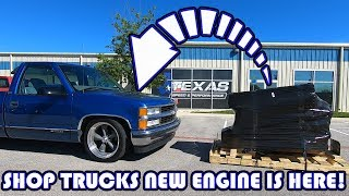 Texas Speed Shop Trucks New Engine Is Here!