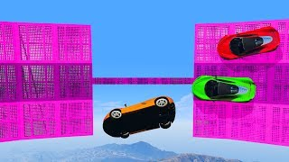 WORLD'S HARDEST 99% IMPOSSIBLE WALL RIDE!? (GTA 5 Online)