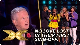 No Love Lost fall short in FIRST sing-off | Live Week 3 | X Factor: Celebrity