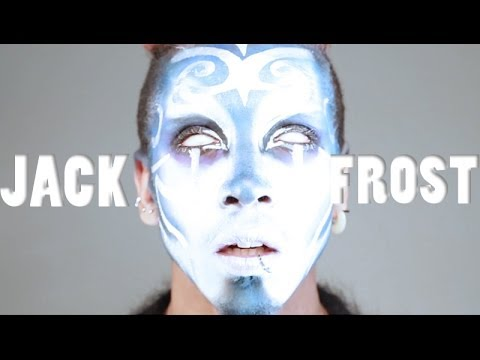 Winter frost makeup