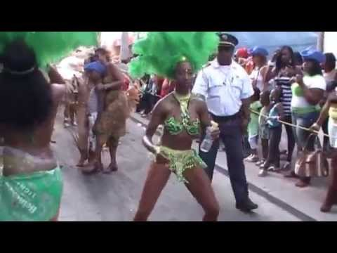 Long Video 7 Twerk, Big Booty, Dancing Girls St Maarten Carnival 2015,  Judith Roumou, video