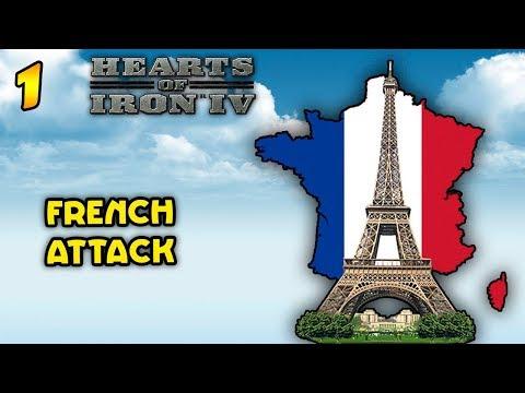 Не такая уж белая и пушистая! Hearts of Iron 4  - Франция #1