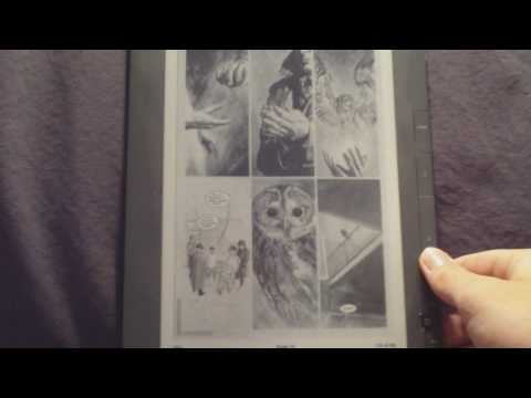 Graphite Kindle DX 2 Review: PDF files, Comics, Graphic Novels