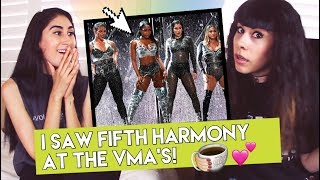 Download Lagu I SAW FIFTH HARMONY AT THE VMA's! | Exclusive 5h VMA Tea (Reaction) Gratis STAFABAND