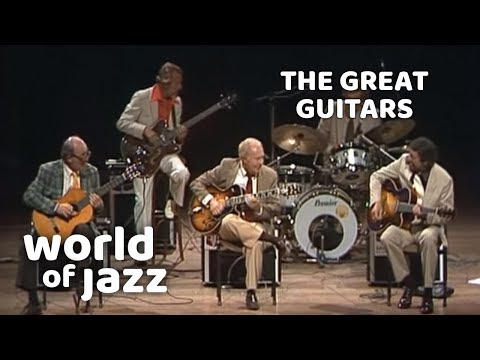 The Great Guitars: Barney Kessel, Charlie Byrd and Herb Ellis • 11-07-1982 • World of Jazz