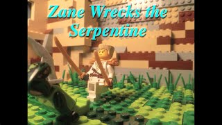 Lego Ninjago Stop Motion: Zane Whips the Serpentine
